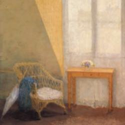 A Corner of the Artists Room - Paris by Gwen John