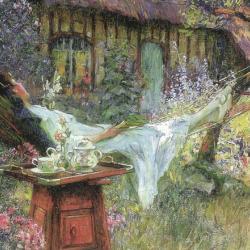 A Lazy Afternoon by Henri-Gaston Darien