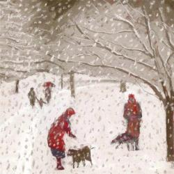 A Walk in the Snow by Sue Campion