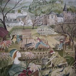 Allotment - Dunkeld by Madeleine Hand