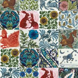 Arts and Crafts Tile Designs by William De Morgan