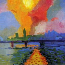 Charing Cross Bridge by Andre Derain