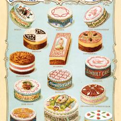Christmas Cakes by Huntley and Palmers