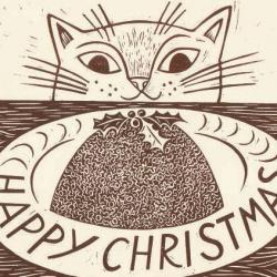 Christmas Cat by Emily Sutton