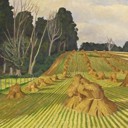 Cornfield with Stooks by John Nash