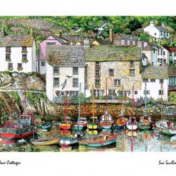 Cove Cottages by Sue Scullard