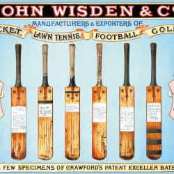 Cricket Bats by John Wisden