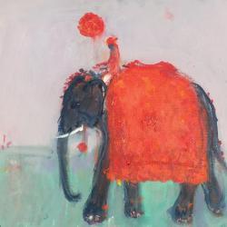 Diwali Elephant by Ann Shrager