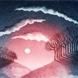 Dusk I by Morna Rhys