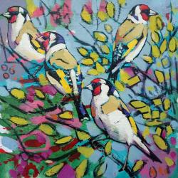 Goldfinches by Daniel Cole