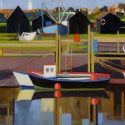 Harbour - Southwold by Katherine Hamilton