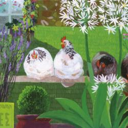 Harriets Hens by Sheila Smithson