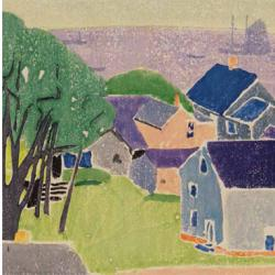 House near the Bay by Edna Boies Hopkins
