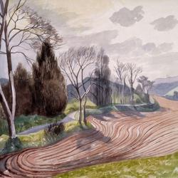 Landscape Near Hadleigh by John Nash