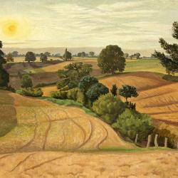 Late Summer  Stoke-by-Nayland - John Nash