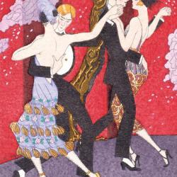 Les Fureurs du Tango by George Barbier