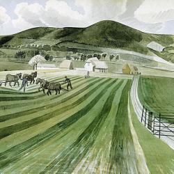 Mount Caburn by Eric Ravilious