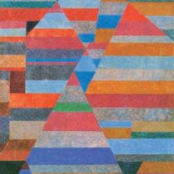 Nekropolis 1930 by Paul Klee