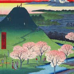 New Fuji by Utagawa Hiroshige