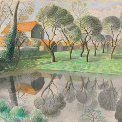 Newt Pond by Eric Ravilious