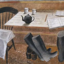 Observers Corps Hut by Eric Ravilious