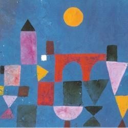 Red Bridge - Detail by Paul Klee