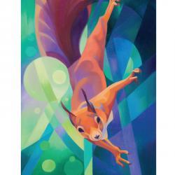 Red Squirrel by alison Ingram