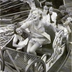 Roller Coaster Ride by Kurt Hutton