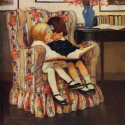 Sitting Pretty by Jessie Willcox Smith
