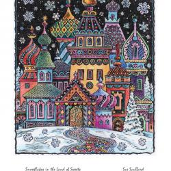 Snowflakes in the Land of Sweets by Sue Scullard