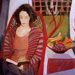 Sophie Reading by Sue Campion