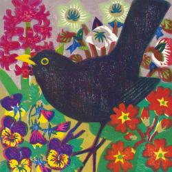 Spring Blackbird by Matt Underwood