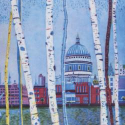 St Pauls by Twilight by Karen Keogh