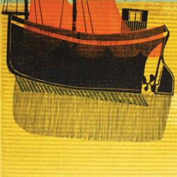 Sussex Boats and Nets (No 1) by Robert Tavener