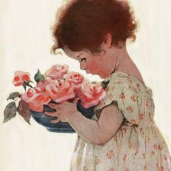 Sweet Roses by Jessie Wilcox Smith