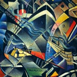 The Arrival by C R W Nevinson