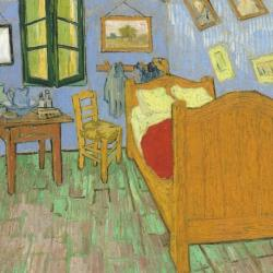 The Bedroom in Arles by Vincent Willem van Gogh