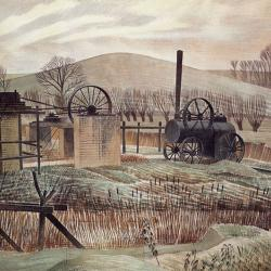 The Brick Yard by Eric Ravilious