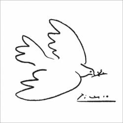 The Dove of Peace by Pablo Picasso