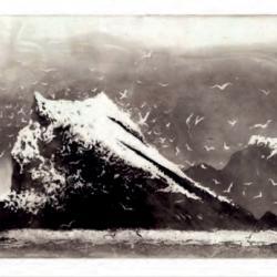 The Rumblings - Muckle Flugga - Shetland by Norman Ackroyd