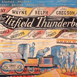 The Titfield Thunderbolt by Edward Bawden