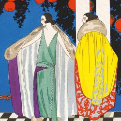 Two Mantles by Jean Patou