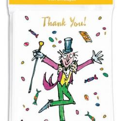 Willy Wonka Thank You Cards by Quentin Blake