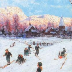 Winter Sports by Frithjof Smith-Hald