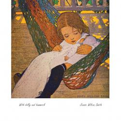 With Dolly and Hammock by Jessie Wilcox Smith