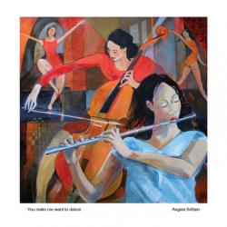 You make me want to dance by Angela Brittain