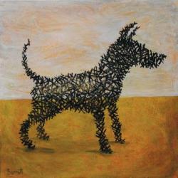 Antony Gormleys Dog by Mychael Barratt PPRE