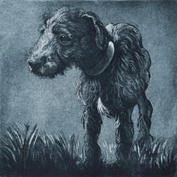 Bedlington Pup by Elizabeth Moriarty