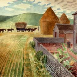 Furlongs by Eric Ravilious