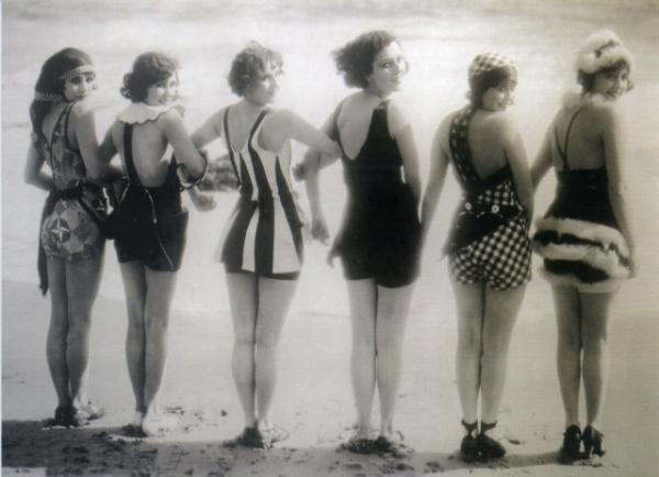 Bathing Belles by Getty Images